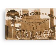 #629  The Saloon Canvas Print