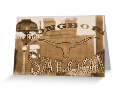 #629  The Saloon Greeting Card