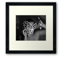 Paper Cut Framed Print