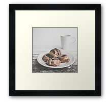 Coffee & Pastries Framed Print