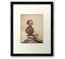 Fresh Baked Bread Framed Print