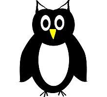 Black And White Owl Design Photographic Print
