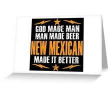 NEW MEXICAN Greeting Card