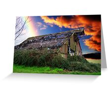 Rainbow Over Ruins - Orton Series Greeting Card