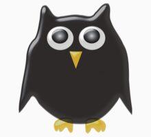 Black Owl Design Kids Clothes