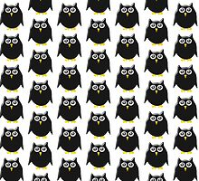 Black Owl Design by biglnet