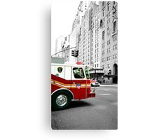 FIRE (Number 2 of a series of 3 cards) Canvas Print