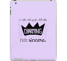Prince Charming Into The Woods, Black iPad Case/Skin