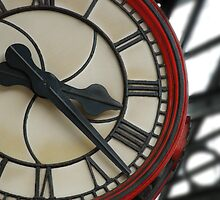 Train Station Clock by John Kroetch