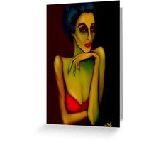 Barfly Greeting Card