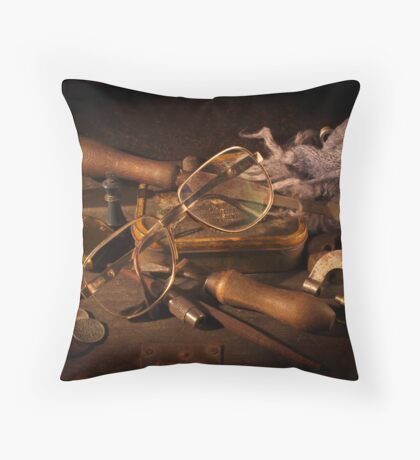 Dad's Glasses Throw Pillow