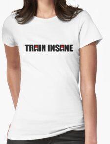 Pokemon Train Insane Womens Fitted T-Shirt