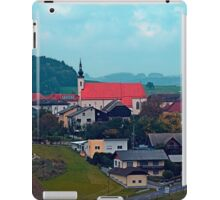 Village skyline on a cloudy day | landscape photography iPad Case/Skin