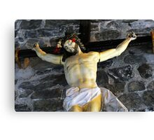 vernazza cross Canvas Print