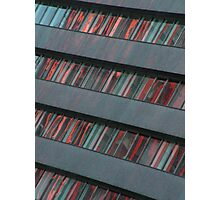 Your music library or just a building Photographic Print