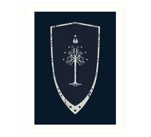 Lord Of The Rings - Gondor Shield Art Print