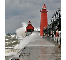 GALE WARNINGS Photographic Print