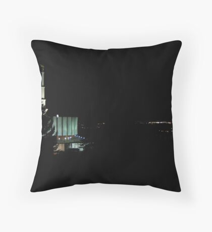 The Watchmen's Tower Throw Pillow
