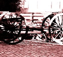 Cannon Cart by Polly Peacock