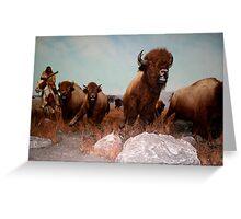 The Buffalo Hunt ... Greeting Card