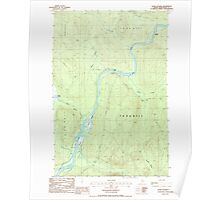 Maine USGS Historical Map Seven Islands 102962 1986 24000 Poster