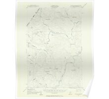 Maine USGS Historical Map Seven Islands 306774 1955 62500 Poster