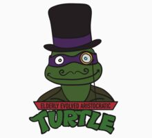 Elderly Evolved Aristocratic Turtles | ThereGoesLucie Kids Clothes