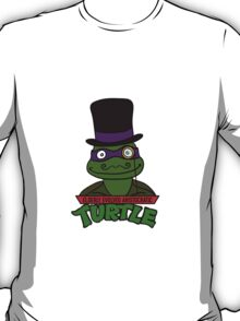 Elderly Evolved Aristocratic Turtles | ThereGoesLucie T-Shirt