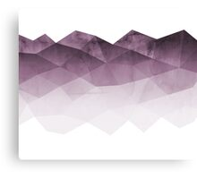 Fifty Shadows of  Purple Canvas Print