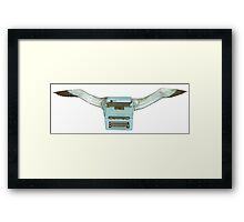 M Blackwell - Typeflyer... Framed Print