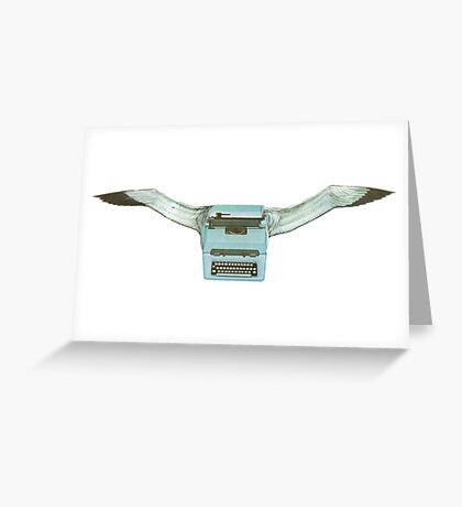 M Blackwell - Typeflyer... Greeting Card