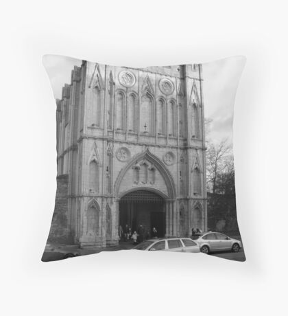 Bury St Edmunds Abbey Throw Pillow
