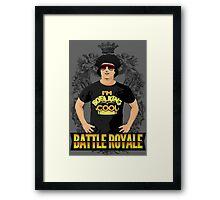 Battle Royale! Framed Print