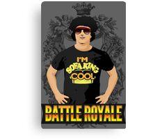 Battle Royale! Canvas Print