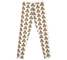 Poop Emoji Leggings Leggings
