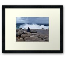 Watching.... Framed Print