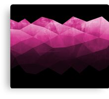 Fifty Shadows of  Pink Canvas Print