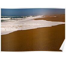 Point Reyes Beach North from Sea Level Poster