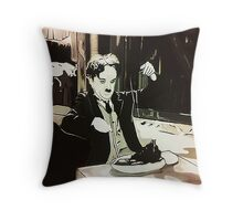 The Golden Rush Throw Pillow