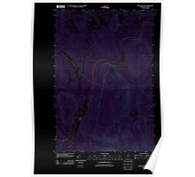 Maine USGS Historical Map Seven Islands 20110906 TM Inversion Poster