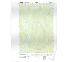 Maine USGS Historical Map Seven Islands 20110906 TM Poster
