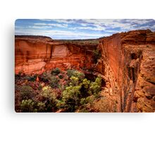 Head of the Canyon, 24 September 2008 Canvas Print