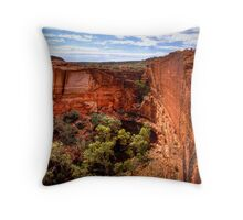 Head of the Canyon, 24 September 2008 Throw Pillow