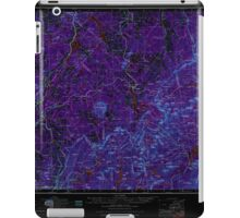Maine USGS Historical Map Sherbrook 460869 1976 250000 Inversion iPad Case/Skin