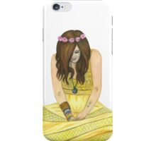 Mia Swier Pencil Drawing iPhone Case/Skin