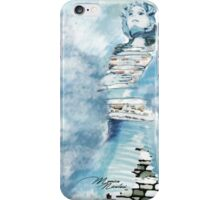 Woman in the sky iPhone Case/Skin
