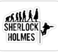 Evolution Of Sherlock Holmes Sticker
