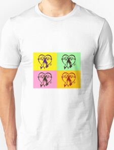 Pop Art Heart T-Shirt