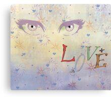loving eyes Canvas Print
