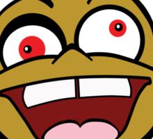 Crazy Monkey Sticker